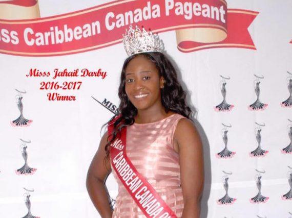 Miss Jamaica crowned Miss Caribbean Canada 2016