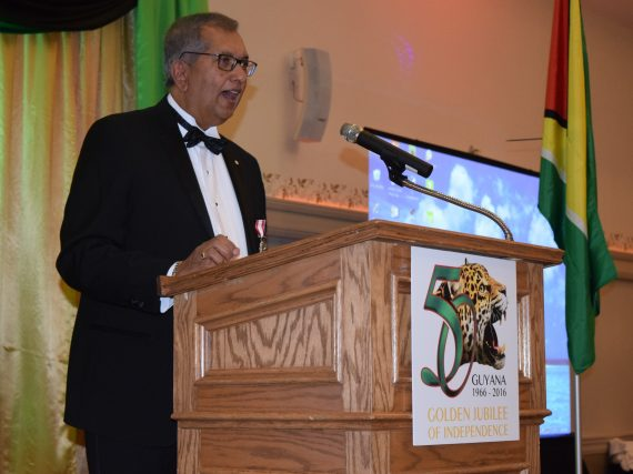 Guyanese Canadians to Mark Fifty Years of Guyana's Independence with Awards Gala